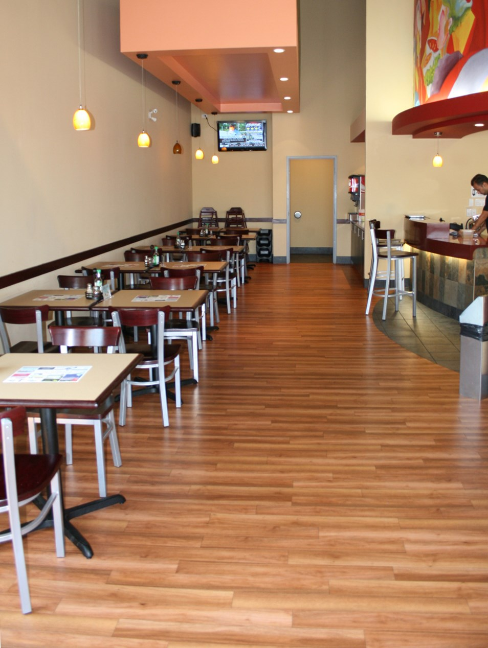 Vinyl Flooring for Restaurants Beautiful and Practical vinyl flooring for restaurants